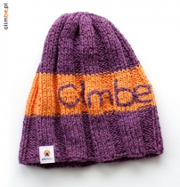 Czapka Intensive Violet Orange Beanie