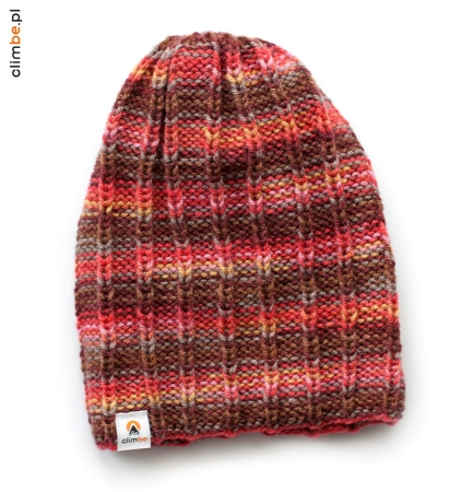 Czapka Strawberry Boho Beanie